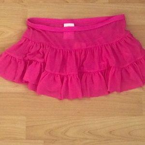 Girls Pink Skirt Sz 6-6x